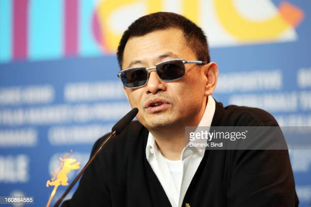 Jury President Wong Kar Wai attend the International Jury Press Conference during the 63rd Berlinale International Film Festival at the Grand Hyatt...