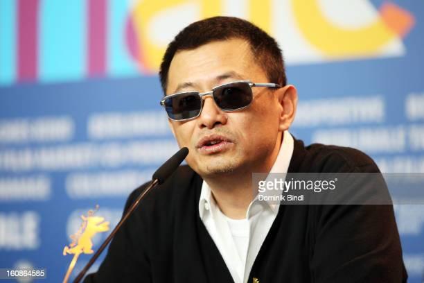 Jury President Wong Kar Wai attend the International Jury Press Conference during the 63rd Berlinale International Film Festival at the Grand Hyatt...