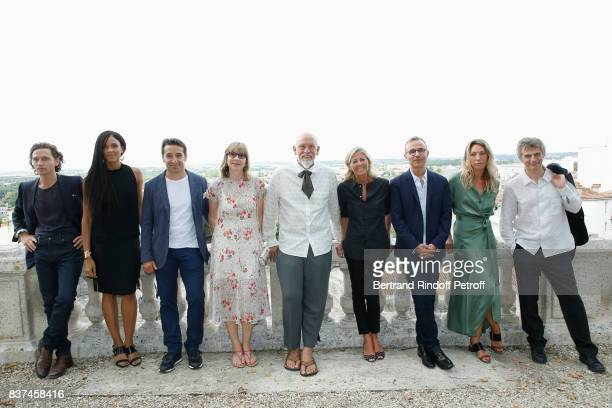 Jury Singer Raphael actress Stefi Celma editorial manager at Canal Plus Cinema Ivan Guyot producer Denise Robert President of the Jury John Malkovich...