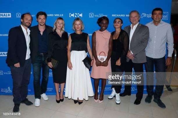 Jury : Thomas Lilti, Raphael Personnaz, Ludivine Sagnier, President Karin Viard, Eye Haidara, Camelia Jordana, Michel Cote and Laurent Hassid attend...