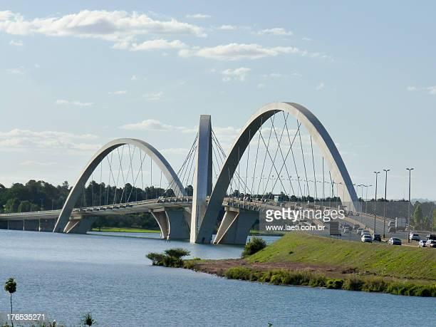 Juscelino Kubitschek's Bridge in Brasilia, Brazil