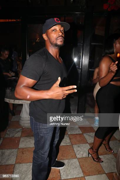 Juss and DNice spin at the 8th Annual Mark Pitts Post BET Awards Soiree at Poppy on June 24 2018 in Los Angeles California