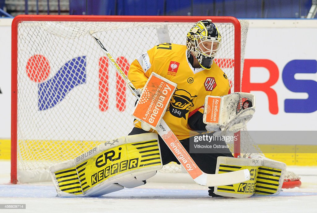 Vitkovice Ostrava v SaiPa Lappeenranta - Champions Hockey League : News Photo