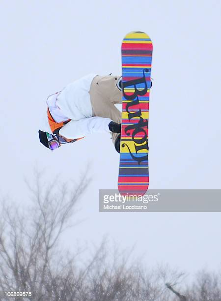 Jussi Oksanen Slopestyle Finals March 19th during 24th Annual Burton US Open Snowboarding Championships at Stratton Mountain in Stratton Vermont...