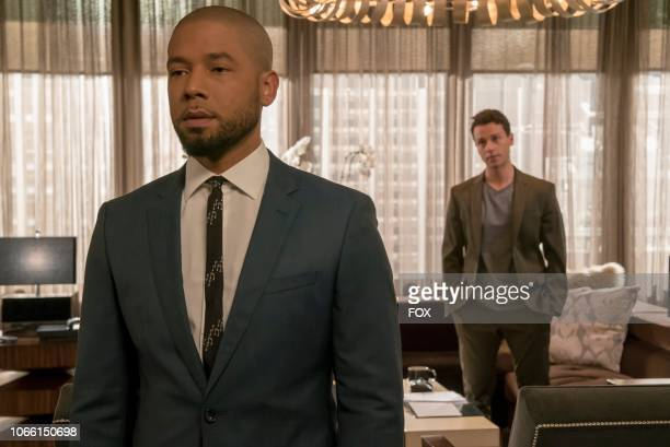 Jussie Smollett and AZ Kelsey in the Pride episode of EMPIRE airing Wednesday Oct 10 on FOX