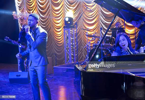 Jussie Smollett and guest star Alicia Keys in the Et Tu Brute fall finale episode of EMPIRE airing Wednesday Dec 2 on FOX