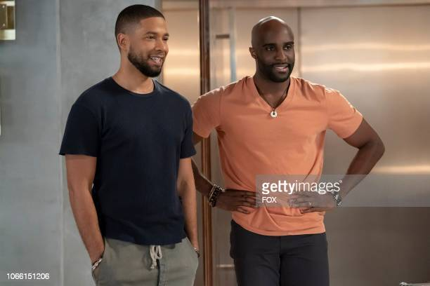 Jussie Smollett and guest star Toby Onwumere in the Treasons Stratagems and Spoils episode of EMPIRE airing Wednesday Nov 14 on FOX