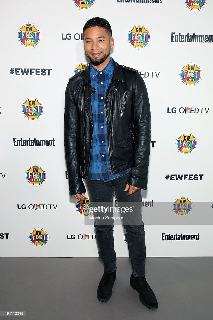 Jussie Smollett attends Entertainment Weekly's first ever 'EW Fest' presented by LG OLED TV on October 24, 2015 in New York City.