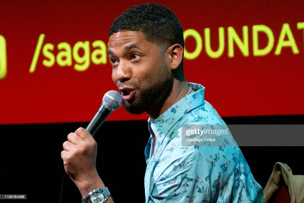 "SAG-AFTRA Foundation Conversations: ""Empire"" With Jussie Smollett : News Photo"