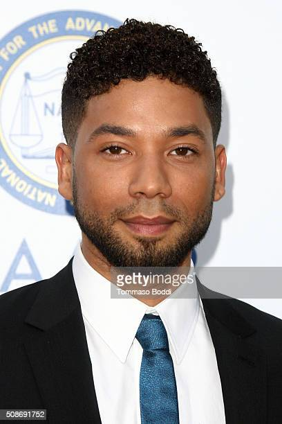 Jussie Smollett attends the 47th NAACP Image Awards held at Pasadena Civic Auditorium on February 5 2016 in Pasadena California