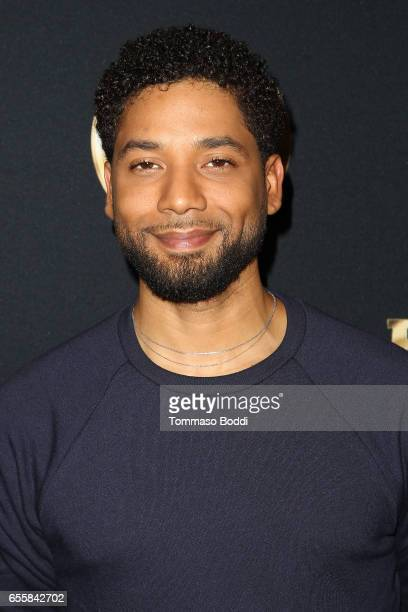 Jussie Smollett attends the Spring Premiere Of FOX's 'Empire' at Pacific Theatres at The Grove on March 20 2017 in Los Angeles California