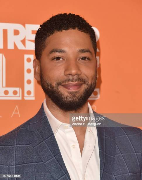 Jussie Smollett attends The Trevor Project's 2018 TrevorLIVE Gala at The Beverly Hilton Hotel on December 02 2018 in Beverly Hills California