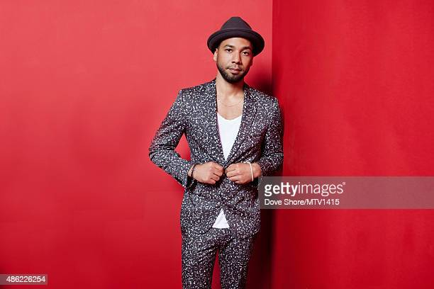 Jussie Smollett is photographed at the 2015 MTV VMA Awards on August 30 2015 at the Microsoft Theater in Los Angeles California