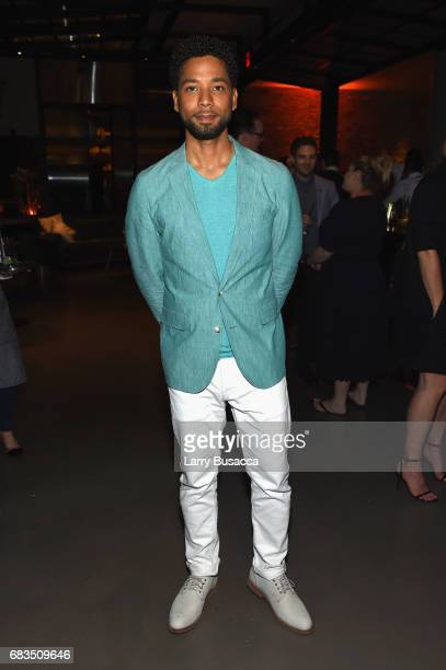 Jussie Smollett of Empire attends the Entertainment Weekly and PEOPLE Upfronts party presented by Netflix and Terra Chips at Second Floor on May 15...