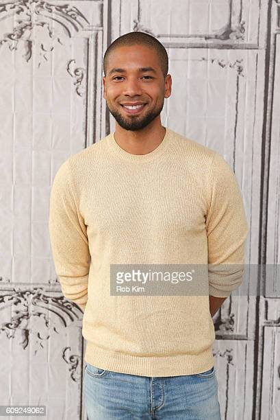 Jussie Smollett poses for a photo at the Build Series at AOL HQ on September 20 2016 in New York City