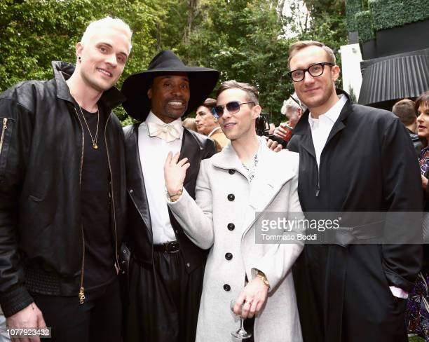 JussiPekka Kajaala Billy Porter Adam Rippon and Adam Smith celebrate the 6th annual Gold Meets Golden with vibrant J sparkling wine at The House on...