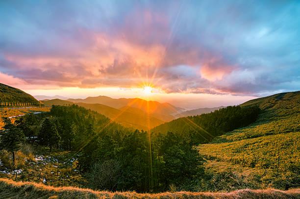 Just 5 Minutes Sunset At Nishina-pass