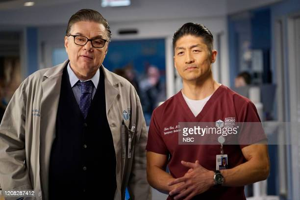 MED Just A River In Egypt Episode 519 Pictured Oliver Platt as Daniel Charles Brian Tee as Ethan Choi