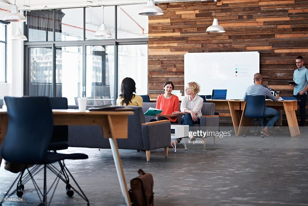 Just A Typical Day In The Office : Stock Photo