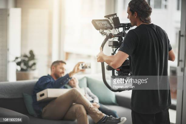 just act natural - film or television studio stock pictures, royalty-free photos & images