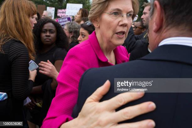 Just after the United States Senate votes to confirm Judge Brett Kavanaugh's nomination to the Supreme Court Senator Elizabeth Warren joins...