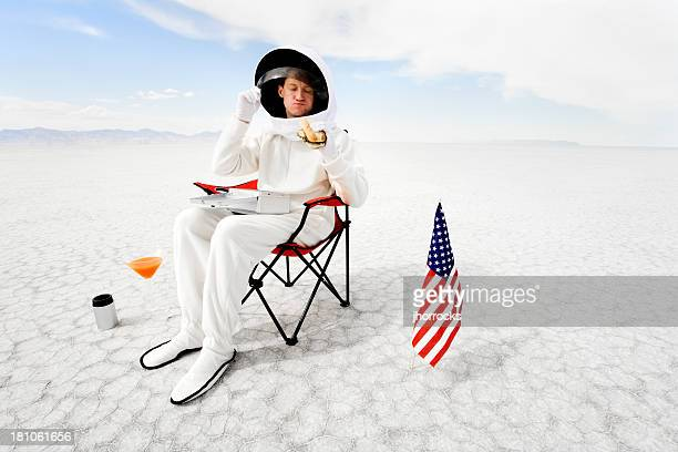 just another day on the job - space exploration stock pictures, royalty-free photos & images