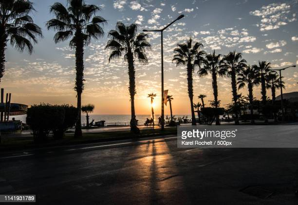 just another sunset - antalya stock-fotos und bilder
