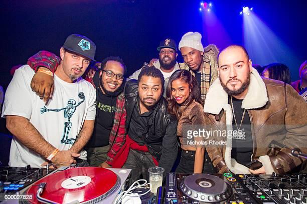 Just Blaze celebrates his birthday with DJ Tony Touch MC Cory Townes DJ Clark Kent Vashtie Kola Young Guru DJ Bobby Trends at House Party NYC at...