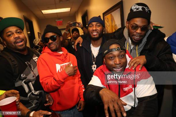 Just Blaze, Omillio Sparks, Neef Buck, Freekey Zekey, and Beanie Sigel attend D'usse Palooza at Barclays Center on December 13, 2019 in New York City.