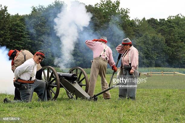 just fired cannon