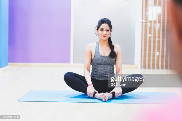 Just follow my instructions and you will learn yoga in no time.