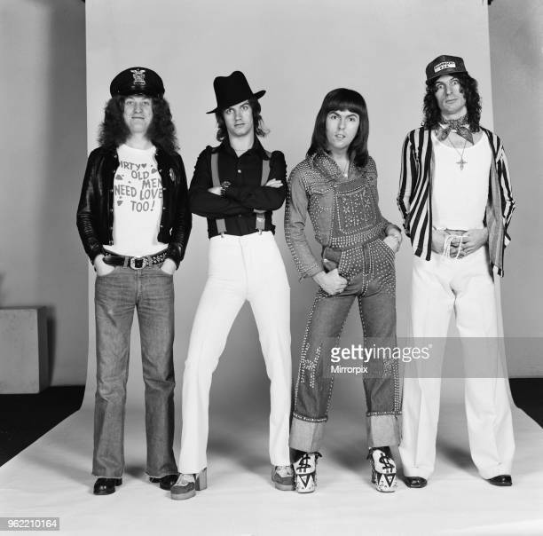 Just home in time for Christmas in England - Slade have a new record going into the charts at number 10 called 'In for a Penny'. The group are...