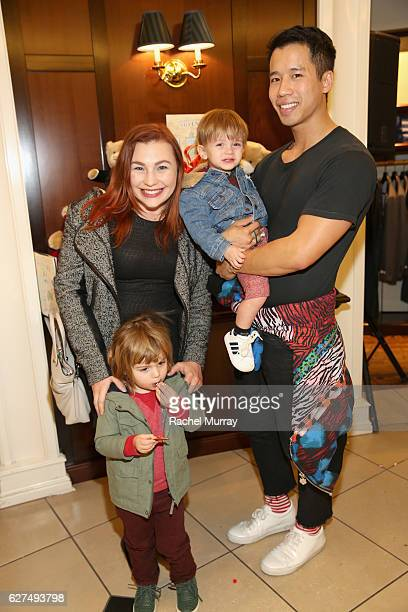 Just Jared Founder Jared Eng and guests attend Brooks Brothers holiday celebration with St Jude Children's Research Hospital on December 3 2016 in...