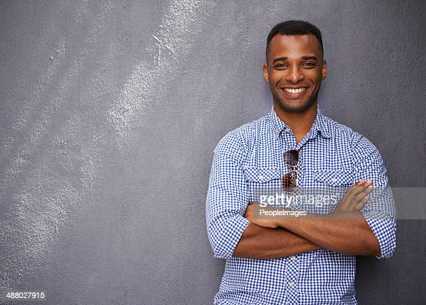just livin' life - most handsome black men stock photos and pictures