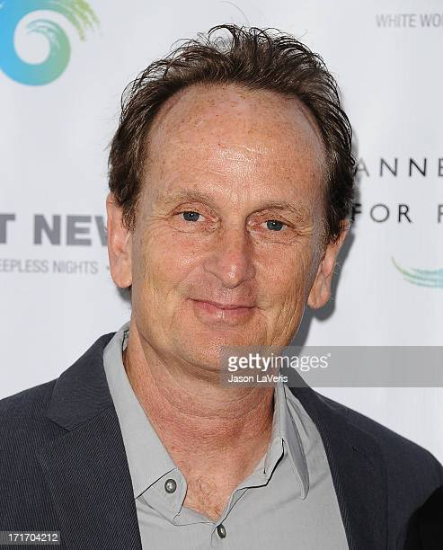 Just Loomis attends the opening of 'Helmut Newton White Women Sleepless Nights Big Nudes' at Annenberg Space For Photography on June 27 2013 in...