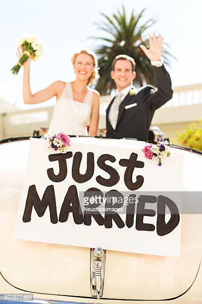 Just Married Stock Photos and Pictures | Getty Images