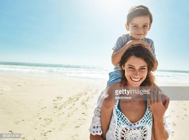 Alleen ik en mijn kleine jongen