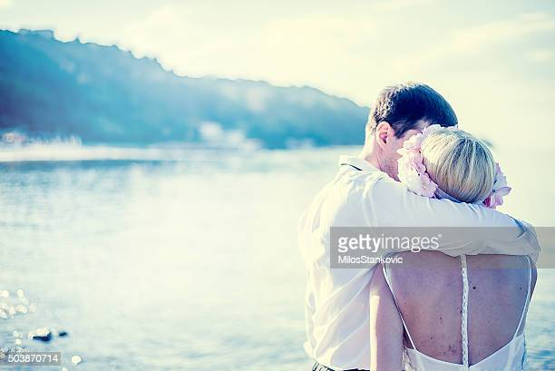 Nur merried romance at the beach
