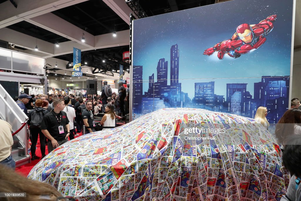 Hyundai Kona Iron Man at San Diego Comic-Con 2018 - Day 1