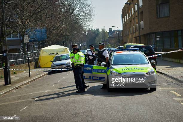 Just one street over from Thomas's Battersea where Prince Goerge son of the Duke and Dutches of Cambridge police continue to investigate an incident...