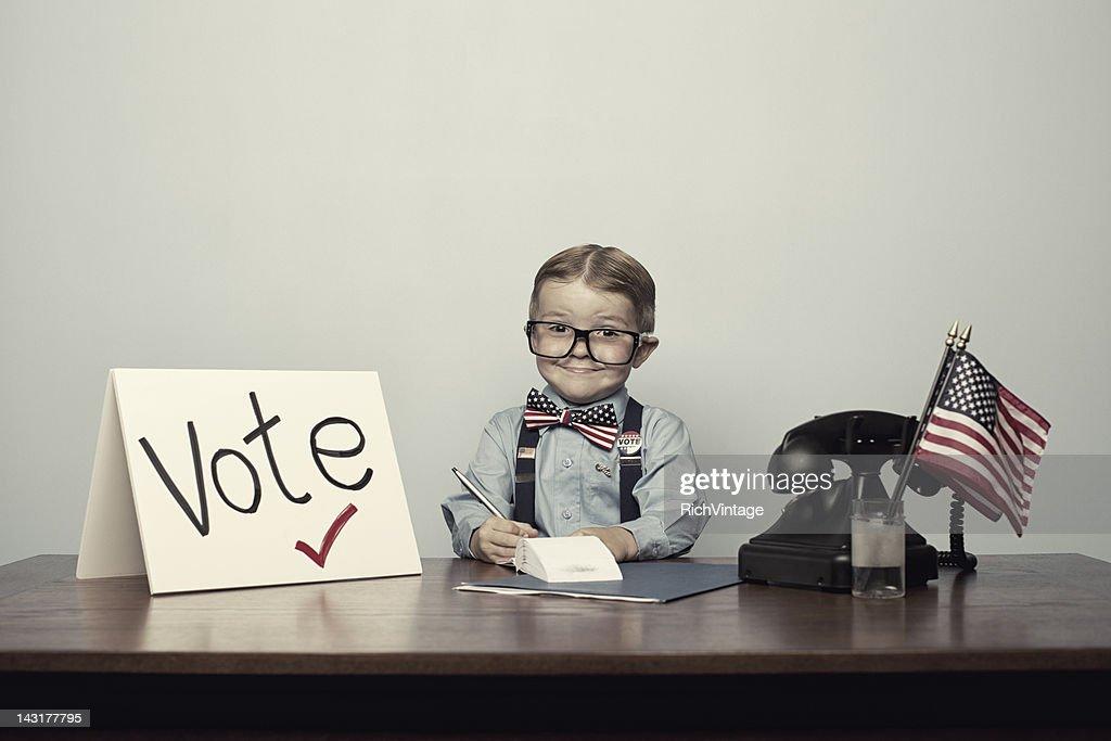 Just Vote : Stock Photo
