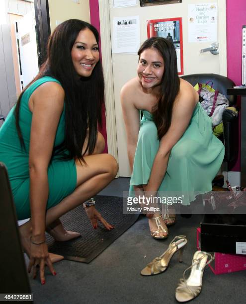 JustFab President and Creative Director Kimora Lee Simmons appears at A Place Called HomeÕs Cinderella Project to inspire teen girls to reach their...