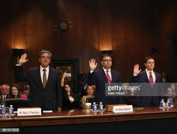 Justice Department nominees Noel Francisco to be Solicitor General Makan Delrahim to be an assistant attorney general in the Antitrust Division and...