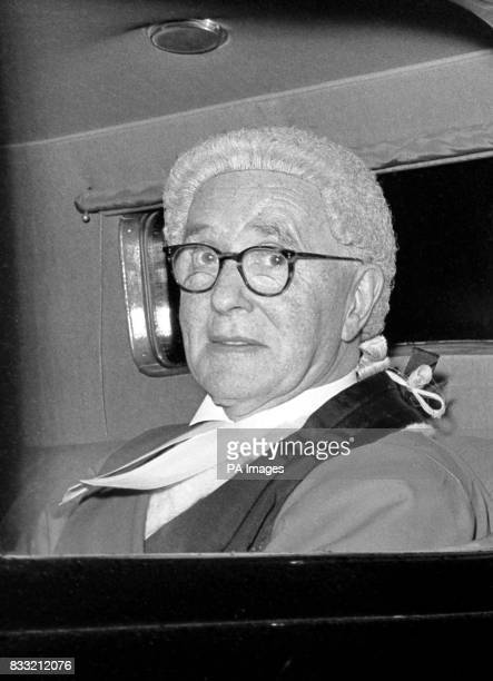 Justice Gorman the judge at the trial of James Hanratty