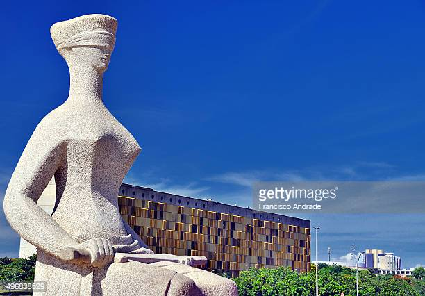 Justice is the name of a sculpture located in front of the building of the Supreme Court in Brasilia, Brazil. Was taken in 1961 by artist Alfredo...