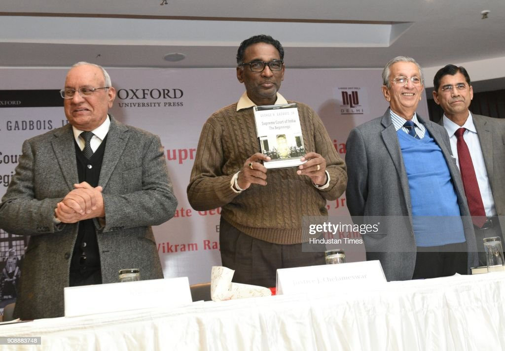 Justice Jasti Chelameswar Releases A Book Supreme Court Of India The Beginning Written By George H Gadbois