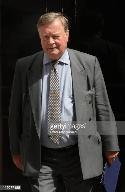 Justice Minister Ken Clarke leaves 10 Downing Street on June 21, 2011 in London, England. Ken Clarke is under pressure to keep his job as Justice...