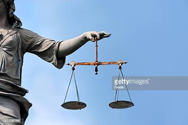 justice - equal arm balance stock pictures, royalty-free photos & images