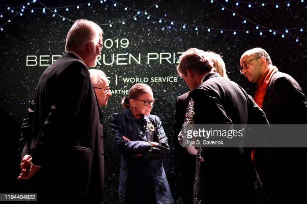 Justice Ruth Bader Ginsburg attends the Fourth Annual Berggruen Prize Gala celebrating 2019 Laureate Supreme Court Justice Ruth Bader Ginsburg In New...