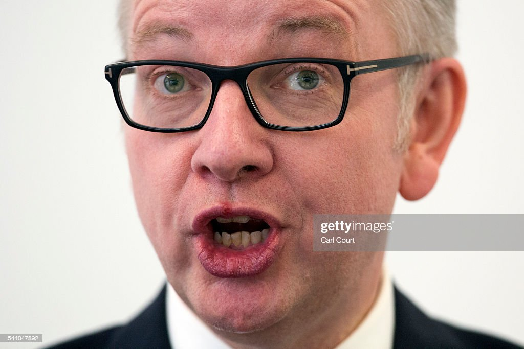 Michael Gove Outlines His Bid For The Conservative Party Leadership